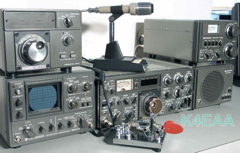 Amateur Radio Station Wb4omm: Kenwood Amateur Radio Hybrid Pages
